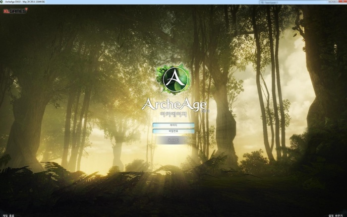 archeage logging screen
